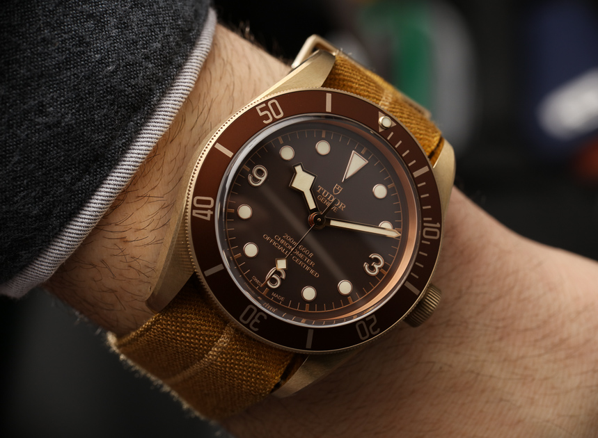 Review: Replica Tudor Heritage Automatic Men's Bronze Watch