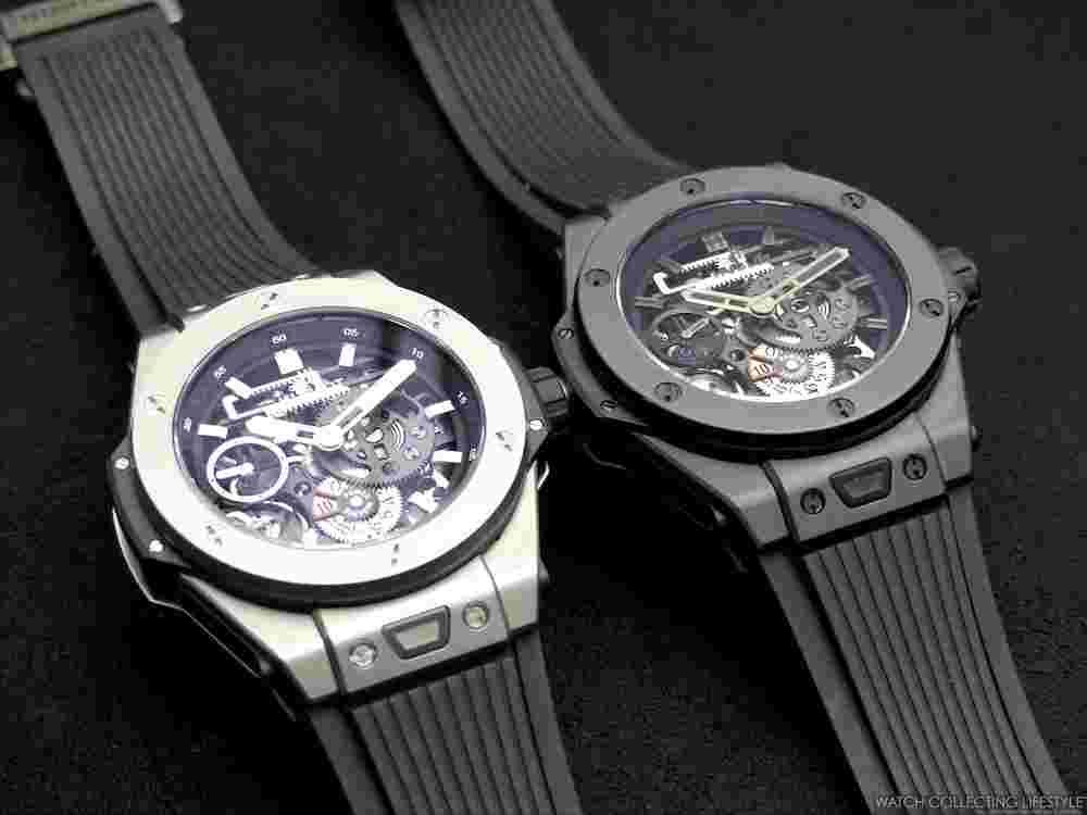 150cff34ecad Swiss Hublot Big Bang MECA-10 Black Magic Replica Watch For Sale ...