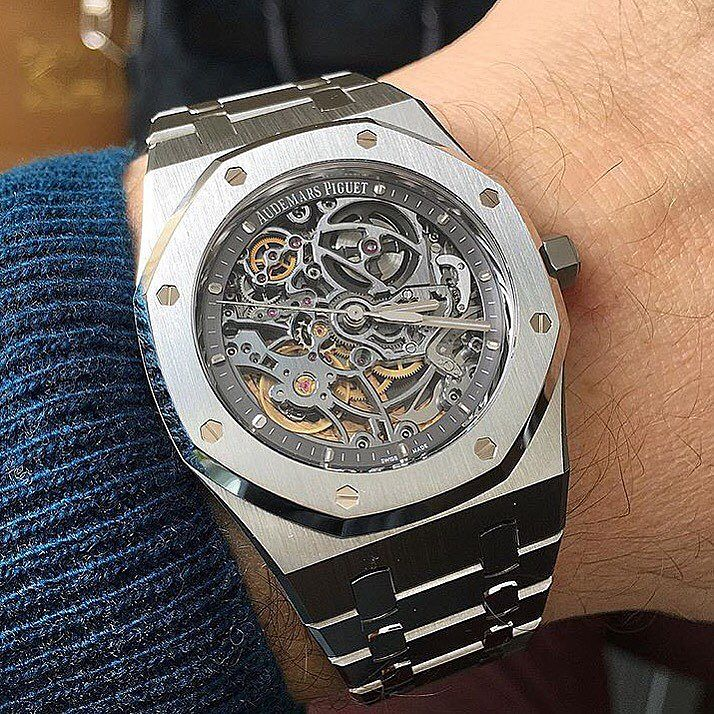 Replica Audemars Piguet Royal Oak Openworked Reference 15305 Watch