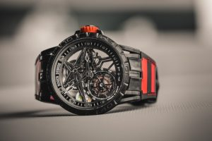 Roger Dubuis Excalibur Boutique Limited Edition Spider Pirelli Single Flying Tourbillon Replica Watch Review