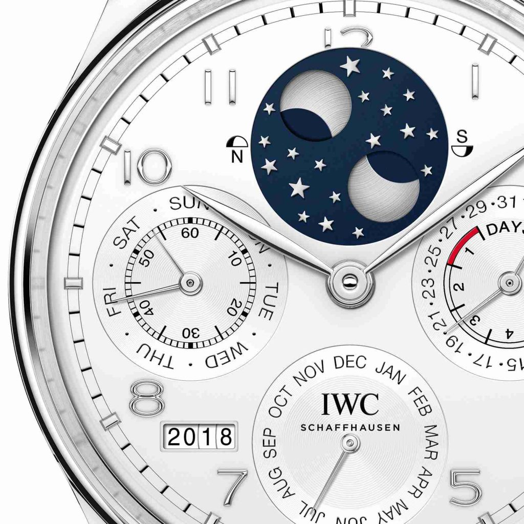0b9c45548be Best Swiss IWC Portugieser Perpetual Calendar Platinum Automatic Limited  Edition 44.2mm IW503406 Watch Replica