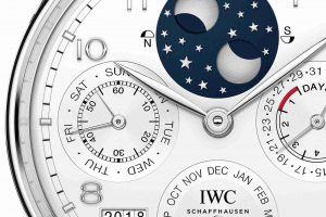 Best Swiss IWC Portugieser Perpetual Calendar Platinum Automatic Limited Edition 44.2mm IW503406 Watch Replica