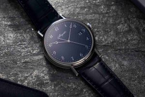 Swiss Replica Breguet Classique Blue Grand Feu Enamel 18k White Gold 38mm 5177 Watches Review For 2019 Feburary