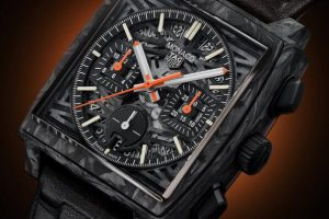 2021 Replica TAG Heuer Only Watch Monaco Heuer 02 Carbon CBL2191.FC6507 Review 3