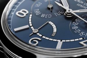 Replica Vacheron Constantin FiftySix Day-Date Petrol Blue Limited Edition Watch Review 3