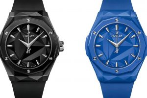 Replica Hublot Classic Fusion Orlinski Black and Blue Dial Ceramic 40mm Watches Review 1