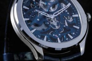 Replica Piaget Polo Light blue Skeleton Watches Review 1