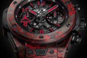 Replica Hublot Big Bang Unico Chronograph Red Carbon Fibre Alex Ovechkin Watches Review 3