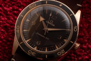 Replica Omega Seamaster 300 Automatic Bronze Gold 41mm Watches Review 2